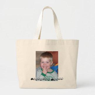 006_6, Grandma's Stuff Large Tote Bag