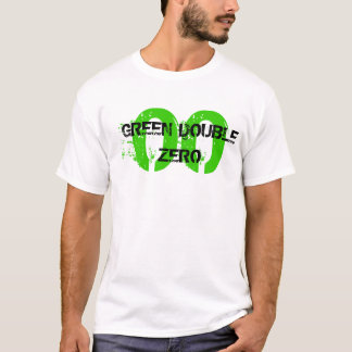 00, GREEN DOUBLE ZERO T-Shirt