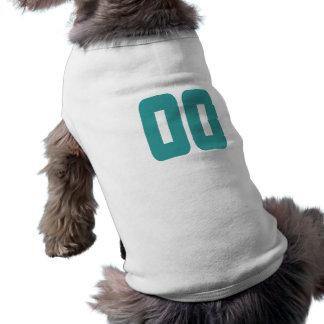 #00 Teal Bold Pet T-shirt