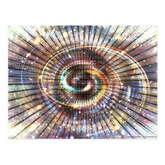 0100101010001101 (part 2) | Code Binary Cyberspace Postcard