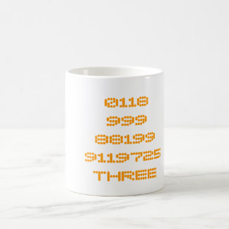 0118999881999119725THREE Fading Mug