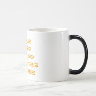 0118999881999119725THREE Fading Mug