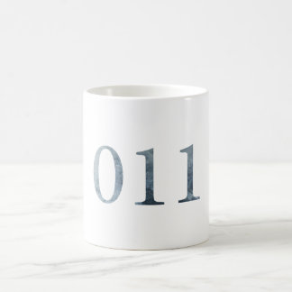 011 / ELEVEN / 11 STRANGER THINGS MUG