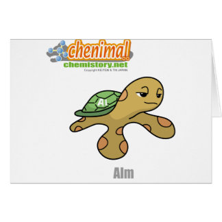 013 alm of Chenimal Greeting Card