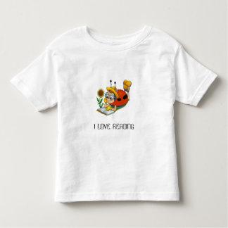 013, I LOVE READING - Customized Toddler T-Shirt