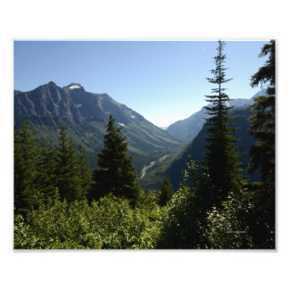 0147 8/12 Logan pass in Glacier Photo Print