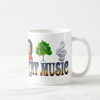 #0163 I LOVE COUNTRY MUSIC Mug