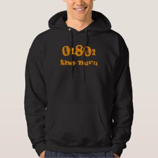 01801 the 'burn hoodie