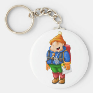 01 Hiker Key Ring
