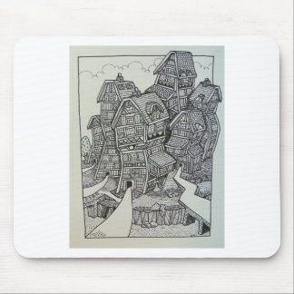 01 Inking 4 by Piliero Mouse Pad