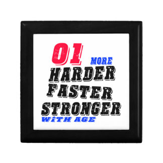 01 More Harder Faster Stronger With Age Gift Box