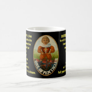 01. One of Pentacles - Sailor tarot Coffee Mug