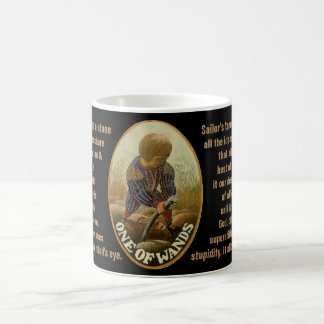 01. One of wands - Sailor tarot Coffee Mug