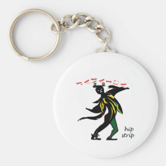 01jd Hip strip montego bay jamaica Key Ring