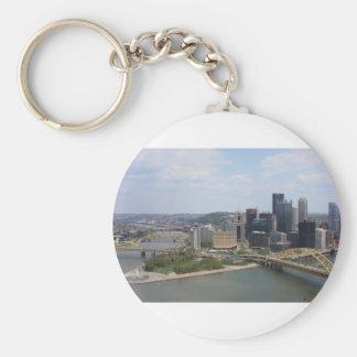 0230 Pittsburgh (Golden Triangle).JPG Key Ring