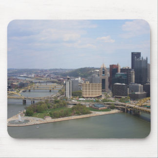 0230 Pittsburgh (Golden Triangle).JPG Mouse Pad
