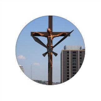0234 Holy Cross.JPG Round Clock