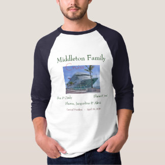 0258, Middleton Family, Ben & Cindy, Shane & Ja... T-Shirt