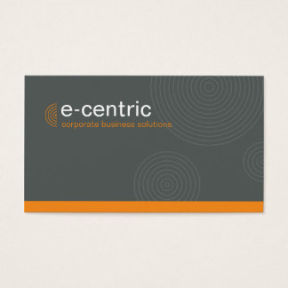 028 Julie :: BCard - Dynamic Centric - silver Business Card