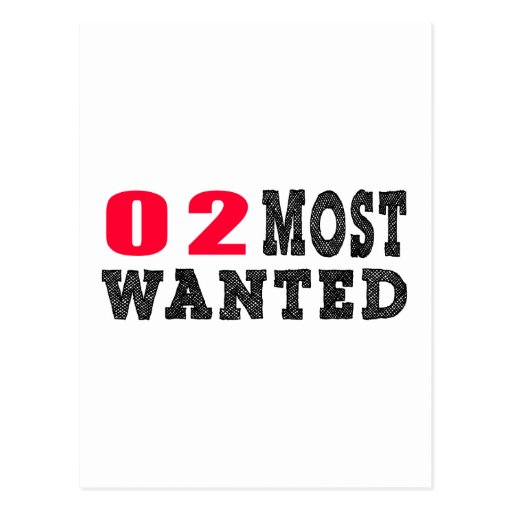 02 most wanted funny birthday designs post card