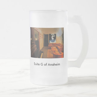 02 suite g, Suite G of Anaheim Frosted Glass Beer Mug