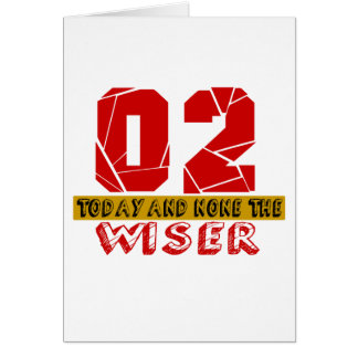 02 Today And None The Wiser Card