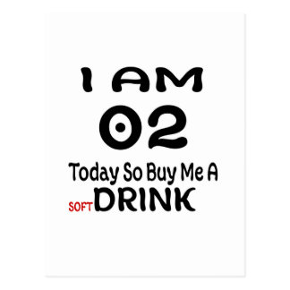 02 Today So Buy Me A Drink Postcard