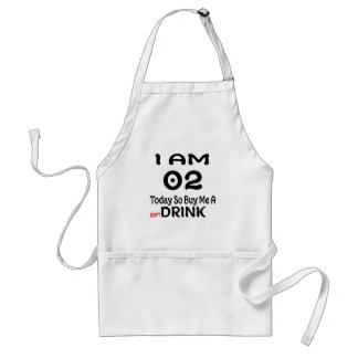 02 Today So Buy Me A Drink Standard Apron