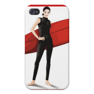 032 Converted vector Cute girls free vector graphi iPhone 4/4S Case