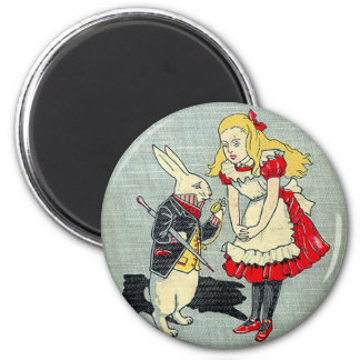 03 - Alice Book Cover Magnet