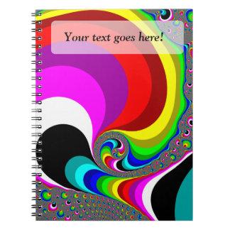 040 Obama - Fractal Art Note Books