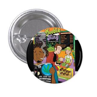 0420 Doobie King Originals Collection 3 Cm Round Badge