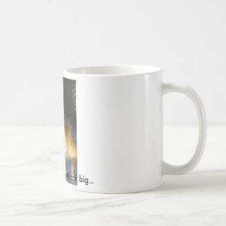 042, Does this make my butt look big.. Basic White Mug