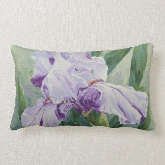 0440 Purple Iris Lumbar Pillow