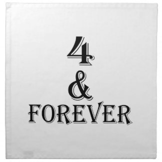 04 And  Forever Birthday Designs Napkin