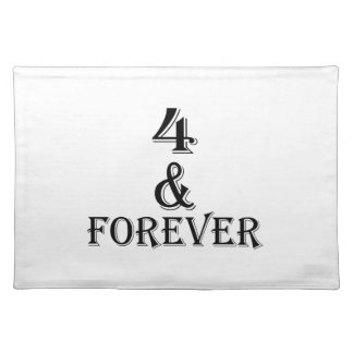 04 And  Forever Birthday Designs Placemat