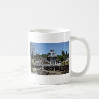 04 Bass Harbor - Harding Light Wharf.tif Coffee Mug