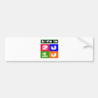 04 Birthday Designs Bumper Sticker