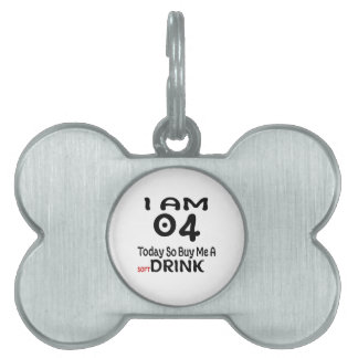 04 Today So Buy Me A Drink Pet ID Tag