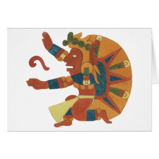 04.Tonatiuh - Mayan/aztec Creator good Card
