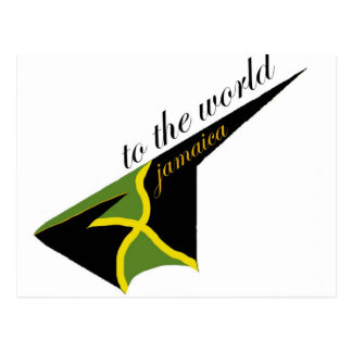 0500 Jamaica To The World Postcard