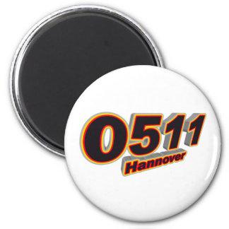 0511 Hannover Magnet