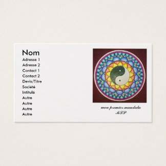 05122010220, chart visits business card