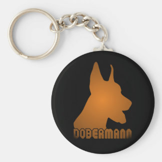 0513032011 Dobermann (Animales) Keychain