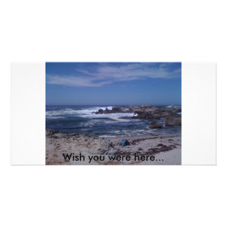 052, Wish you were here... Photo Greeting Card