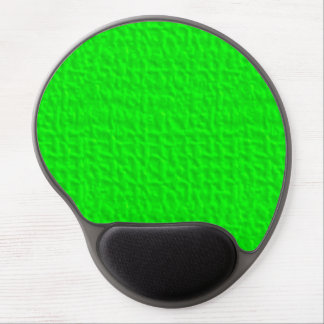 057 NEON GREEN YELLOW FUN WAFFLE TEXTURE TEMPLATE GEL MOUSE PAD