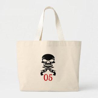 05 Birthday Designs Large Tote Bag