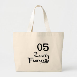 05 Really Funny Birthday Designs Large Tote Bag