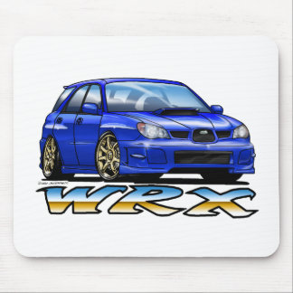 06_09_Wagon_Blue Mouse Pad