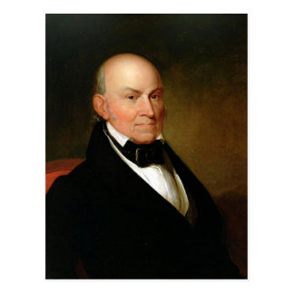 06 John Quincy Adams Postcard